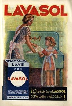 El Cedocam rescata un anuncio publicitario de 1940 de la revista 'Menaje'. eldia.es.