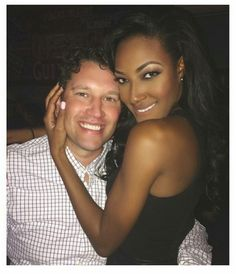 "lizlegunsen: ""What a stunningly beautiful couple, and Greg. Interacial Love, Interacial Couples, Black Woman White Man, Black Love, Mixed Couples, Cute Couples, Stunningly Beautiful, Beautiful Couple, Afro"
