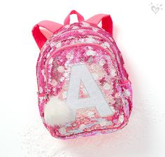 Flip sequin backpacks with A+ style.