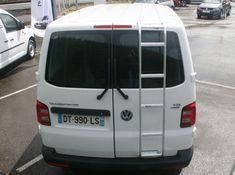 Volkswagen T5-T6 Heckleitern Volkswagen Transporter, Vw T5, Bus Camper, T6 California, Van Life, Offroad, Trucks, Vehicles, Google