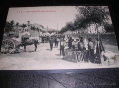 A.T.V..-1597-GERONA,FERIAL DE GANADO-14X9 CM.POST. CIRCUL. (Postales - España - Cataluña Antigua (hasta 1939) - Girona)