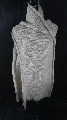 2ff6c1e1016a7c Zara Accessories Off White Cream Winter Chunky Knit Scarf Shawl  Zara   Scarf  winterfashion