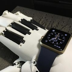 #Apple #Watch looks very cool #youbionic #bionic #hand #robot #design #DIY #industrialdesign #prosthetic #prosthetics #prosthesis #3dprinting #3dprint #3dprinted #cosplay #cyborg #mechatronics #medical #biomedical #technology #new #future #ironman #maker #makers #arduino #mechanics by youbionic