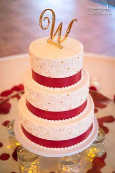 Wedding cake by Simmas Bakery Wedding Cakes Pinterest