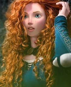 Older Merida♥ This is pretty good!<-- this seems to combine a live photograph and CGI Merida, very cool! Disney Pixar, Disney Animation, Disney And Dreamworks, Disney Movies, Disney Characters, Merida Disney, Disney Kunst, Arte Disney, Disney Magic
