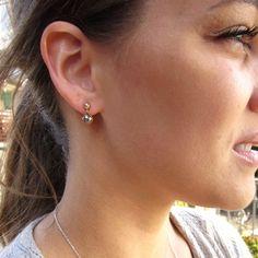 Genuine Pyrite Earrings by Bihls