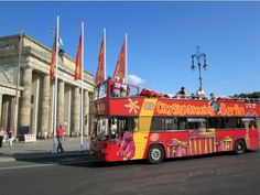 City Sightseeing Berlin, Hop On - Hop Off Bus Tours