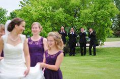 groomsmen reactions to bride