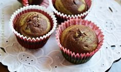 MUFFINS CU CACAO SI MATCHA | Matcha, Muffins, Breakfast, Food, Morning Coffee, Muffin, Eten, Meals, Morning Breakfast