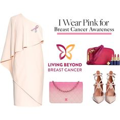 How To Wear I wear pink for breast cancer awareness Outfit Idea 2017 - Fashion Trends Ready To Wear For Plus Size, Curvy Women Over 20, 30, 40, 50