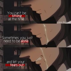 Sad Anime Quotes, Manga Quotes, Sad Quotes, Daily Quotes, Life Quotes, Deep Depression Quotes, Sois Fort, Do You Know Me, Broken Heart Quotes