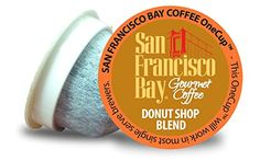 SAN FRANCISCO BAY DONUT SHOP BLEND 24 ONE CUPS for Keurig K-Cup Brewers