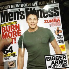 Zumba in Men's Fitness !!!