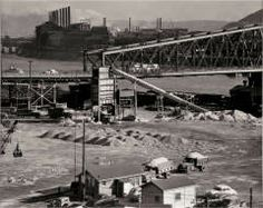 (Industry: Jones and Laughlin and the Brady Street Bridge) CLYDE HARE (AMERICAN, JULY 11, 1927–OCTOBER 14, 2009) 1951