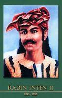 gambar-foto pahlawan nasional indonesia, Radin Inten II