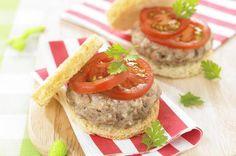 Steamed babyburger