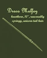 Draco!! :D As much as I love my Gryffindor house, Malfoy is awesome.
