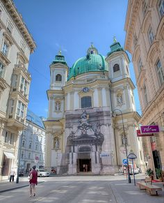 Peterskirche (St. Peter's Church), Vienna, Austria