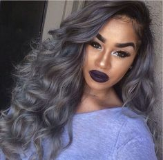 silver hair on dark skin google search characters and people pinterest silver hair