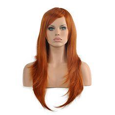perucas sintéticas do partido de alta qualidade da mulher de cor castanho encaracolado longa de 5026960 2017 por R$57,90