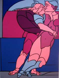 На основе классического экспрессионизма и поп-арта. Valerio Adami Contemporary Artists, Outline, Spiderman, Literature, Illustration, This Or That Questions, Pop, Paintings, Life