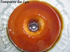Temperos da Iza: Pudim de Iogurte Grego e Caramelo