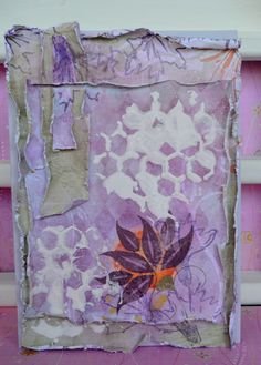 I have a very shabby card today made for Magenta. Was I so sad when I made it? I should be happy because I could use new stencils and sta. Magenta, Stencils, Stamps, Sad, Shabby, How To Make, Painting, Seals, Paintings