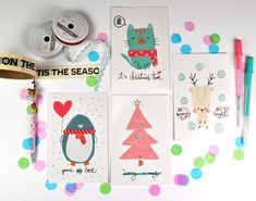Hey, I found this really awesome Etsy listing at https://www.etsy.com/au/listing/553795262/pack-of-postcards-xmas-collection