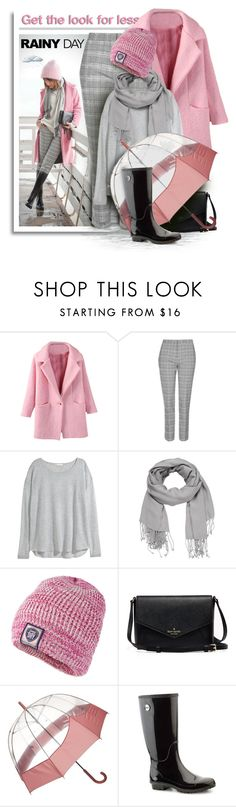 """Get the look for less - Rainy Day Style"" by fashion-architect-style ❤ liked on Polyvore featuring мода, Topshop, H&M, maurices, Superdry, Hunter и UGG Australia"