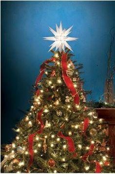 Jeeke Christmas Star Tree Topper Sparkle Stars Magic Novelty Christmas Topper