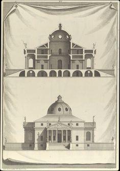Giacomo Quarenghi, Progetto della Cattedrale di Kazan' a San Pietroburgo,1780. Dottrina dell'Architettura Architetto David Napolitano