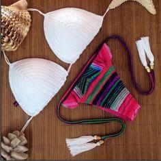 2017 New sexy brazilian bikini swimwear crochet bathing suit push up biquini women maillot de bain S M L Summer Swimsuits E042