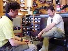 Buying the right workout shoes