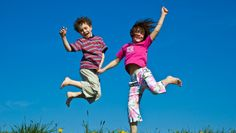 happy children playing outside - Google Search