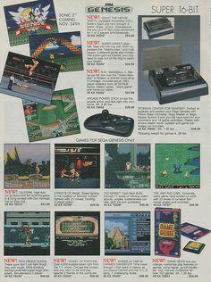 Sega Genesis retro ad