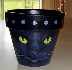 I help lead a small local craft group. We had our annual craft show. Clay Flower Pots, Flower Pot Crafts, Clay Pots, Clay Pot Projects, Clay Pot Crafts, Shell Crafts, Painted Plant Pots, Painted Flower Pots, Pots D'argile