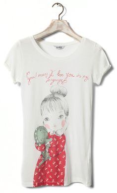 Buy the latest Spring/Summer 17 T-shirts for women at PULL&BEAR. Find printed, long sleeve, slogan, striped & embroidered T-shirts. Pull N Bear, Bear Print, T Shirts For Women, Tees, Long Sleeve, Prints, Polyvore, How To Wear, Stuff To Buy