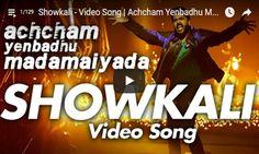 Achcham Yenbadhu Madamaiyada - Showkali HD Video Song => http://www.123cinemanews.com/video-details.php?id=2042