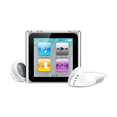 Apple iPod Charcoal nano 8GB - Walmart.com (3,535 THB) ❤ liked on Polyvore featuring ipods