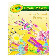 Crayola 99-1254 Crayola Dream-Makers Guide, Grades K-6, After School, 104 Pages by Binney & Smith, Inc.. Save 31 Off!. $20.99. Time-saving, easy-to-use educator's guide.. Time-saving, easy-to-use Dream-Makers® educator's guide with complete lessons and instructions for Grades K-6th. 24 lessons, 104 pages.. Engaging activities and ideas enhance learning.. Includes objectives, standards, preparation and more - everything needed to deliver lessons.. Each lesson is in a full four-page spread so…