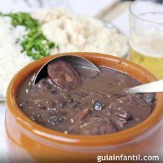 Receta de feijoada brasileña para niños