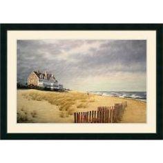 @Overstock.com - Artist: Daniel PolleraTitle: Beach HouseProduct type: Framed art printhttp://www.overstock.com/Home-Garden/Daniel-Pollera-Beach-House-Framed-Art-Print/6192766/product.html?CID=214117 $249.99