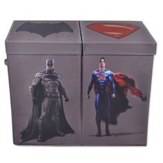 Batman vs. Superman Double Laundry Hamper - www.BedBathandBeyond.com