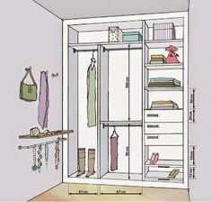 Arqky.net: Como distribuir un closet