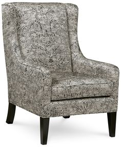kenton fabric living room chair | living room chairs and living rooms
