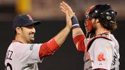 RED SOX 7, TWINS 6    Red Sox eke out a win