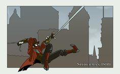 The Amazingly Steampunk Spider-Men   Steampunk.com