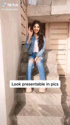 Teen Photography Poses, Photography Hacks, Teenage Girl Photography, Pic Pose, Picture Poses, Girl Photo Poses, Girl Photos, Stylish Photo Pose, Cool Poses