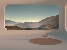 Aesthetic Desktop Wallpaper, Scenery Wallpaper, Arquitectura Wallpaper, 3d Cinema, Macbook Wallpaper, Minimalist Architecture, Retro Futurism, Aesthetic Pictures, Art Direction