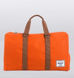 566a6b8e28c Herschel Supply Co. Novel Duffle Bag - Camper Orange Big Bags